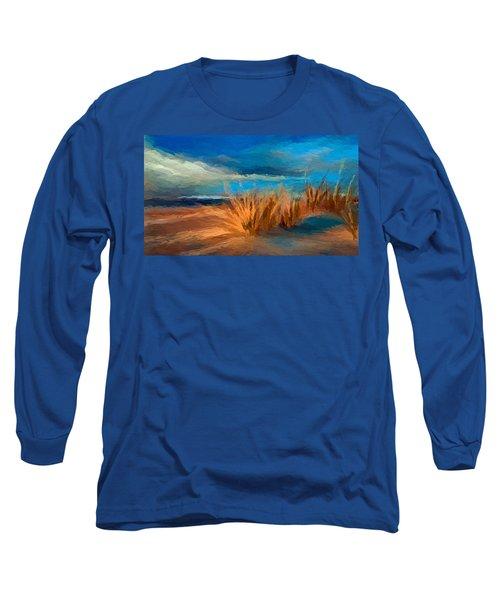 Evening Beach Dunes Long Sleeve T-Shirt