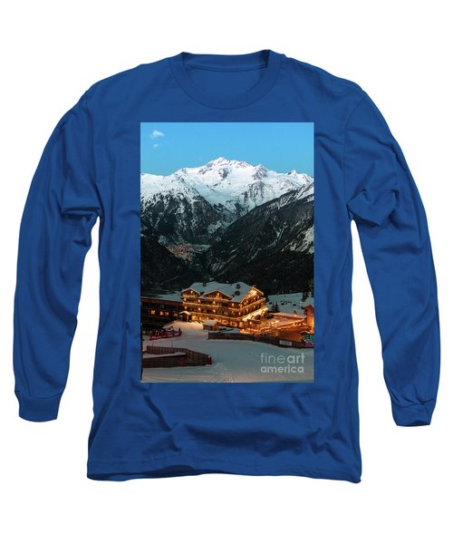 Evening Comes In Courchevel Long Sleeve T-Shirt