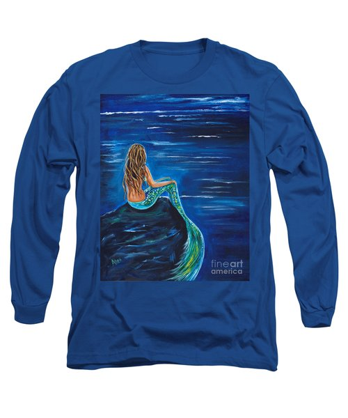 Evening Tide Mermaid Long Sleeve T-Shirt
