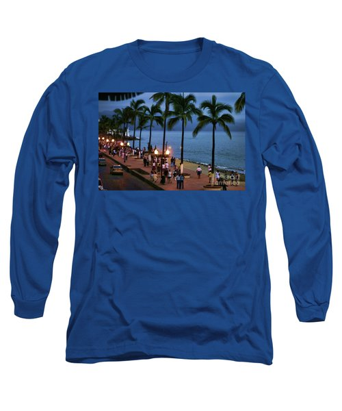 Evenings On The Malecon Long Sleeve T-Shirt