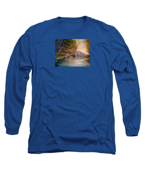 Evening's Twilight Long Sleeve T-Shirt by Patricia Schneider Mitchell