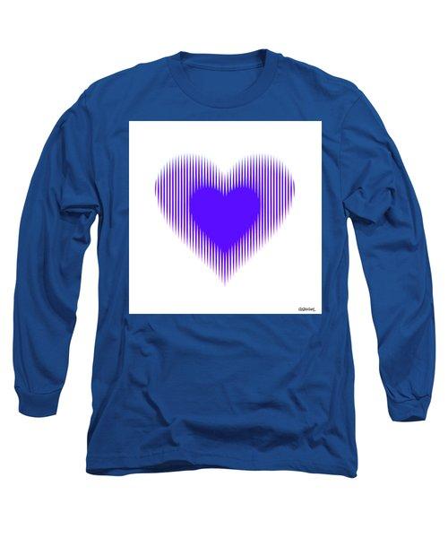 Expanding - Shrinking Heart Long Sleeve T-Shirt