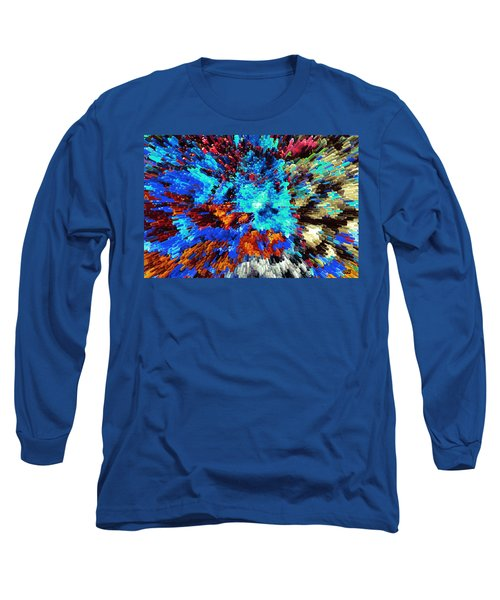 Explosion Of Color Long Sleeve T-Shirt