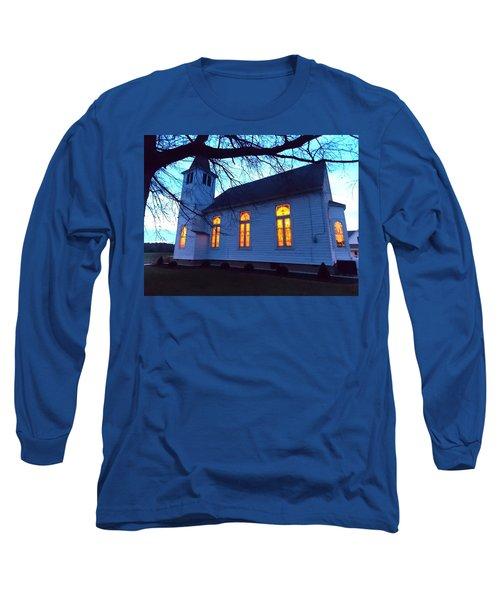 Exterior Church Evening Long Sleeve T-Shirt