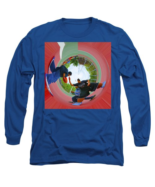 Extreme Pick Up Basketball Long Sleeve T-Shirt