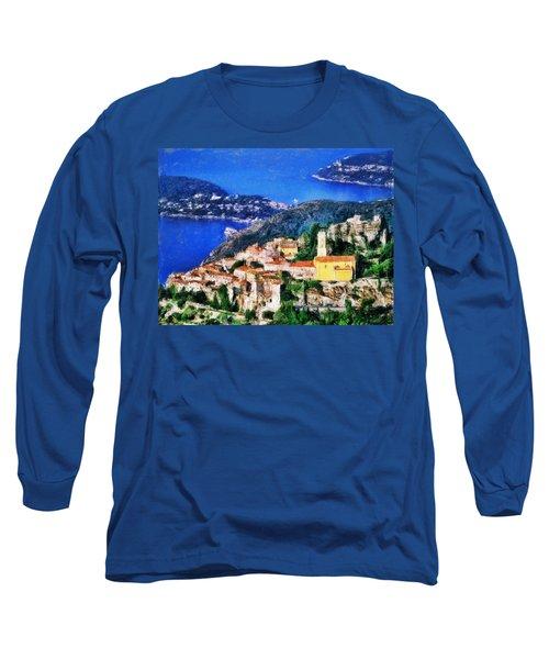Eze And Cap Ferrat Long Sleeve T-Shirt