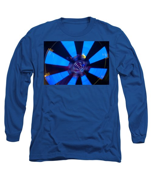 Fairground Abstract Vi Long Sleeve T-Shirt by Helen Northcott