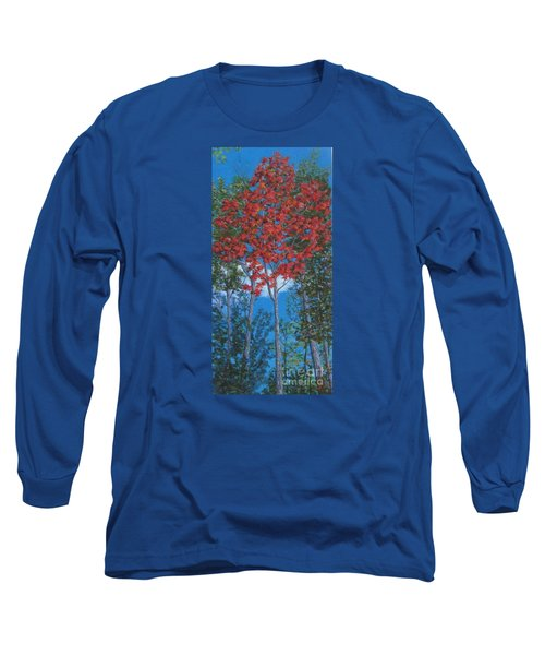 Fall In Asheville Long Sleeve T-Shirt by Anne Marie Brown