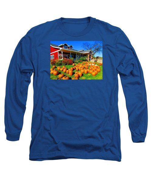 Fall Market Long Sleeve T-Shirt