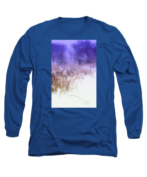 Feel Of Cold Land Long Sleeve T-Shirt