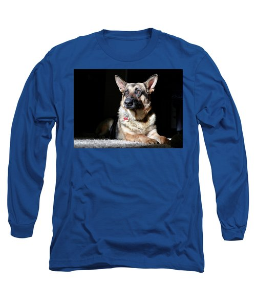 Female German Shepherd Long Sleeve T-Shirt