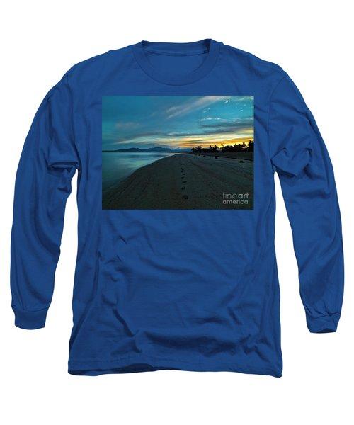 Fiji Dawn Long Sleeve T-Shirt by Karen Lewis