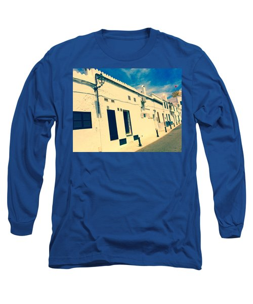 Fishermens' Cottages In Cuitadella Long Sleeve T-Shirt