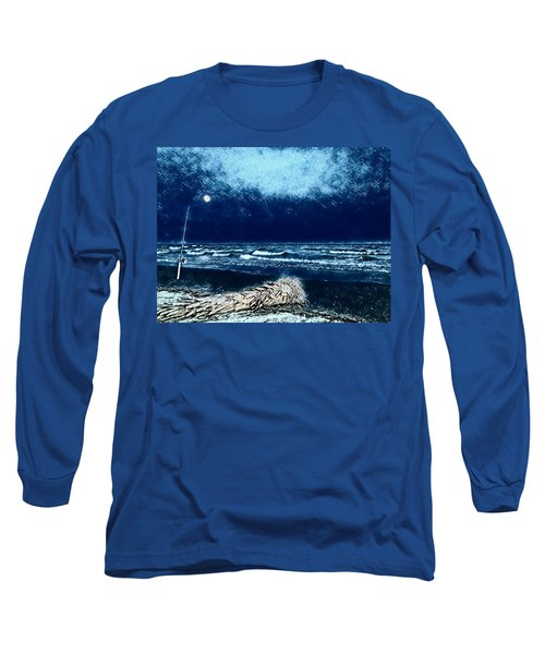 Fishing For The Moon Long Sleeve T-Shirt