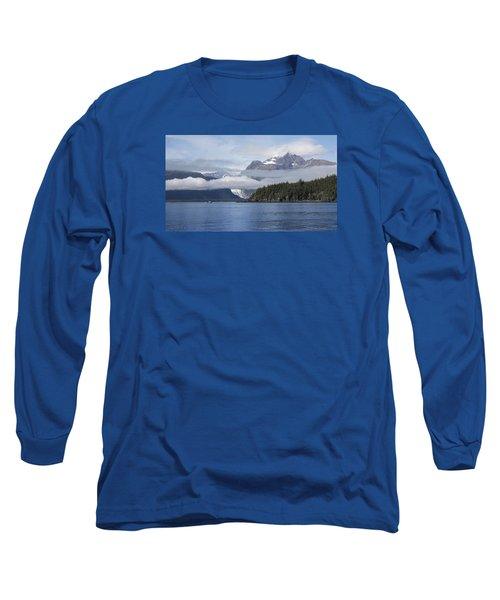 Fishing In Southeast Alaska Long Sleeve T-Shirt by Michele Cornelius