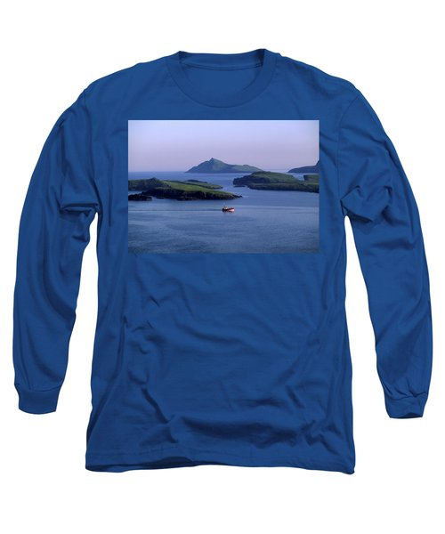 Fishing Trawler, Blasket Islands, Co Long Sleeve T-Shirt