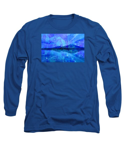 Flagstaff Lake Blu Long Sleeve T-Shirt