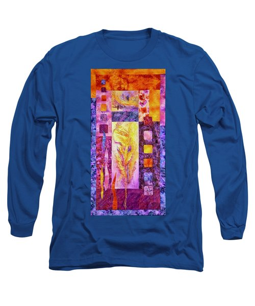 Flaming Feathers Long Sleeve T-Shirt