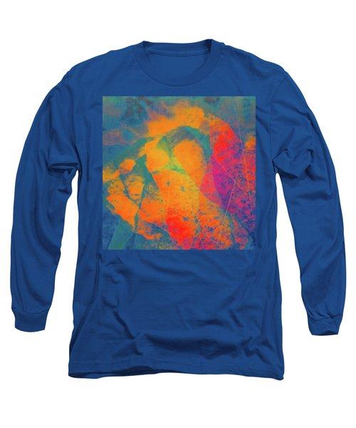 Long Sleeve T-Shirt featuring the photograph Flaming Foliage 1 by Ari Salmela