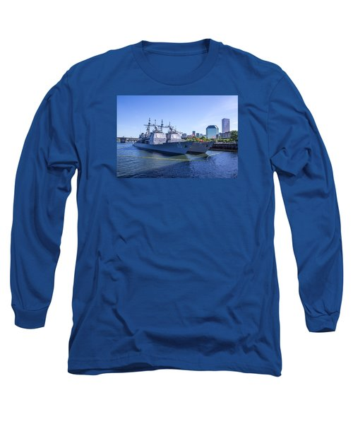 Fleet Week In Portland, Oregon Long Sleeve T-Shirt