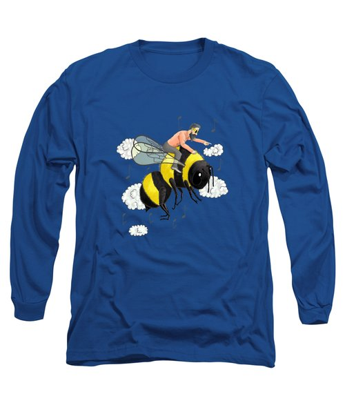 Flight Of The Bumblebee By Nicolai Rimsky Korsakov Long Sleeve T-Shirt