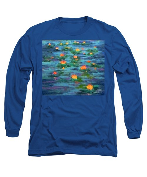 Floating Gems Long Sleeve T-Shirt by Holly Martinson