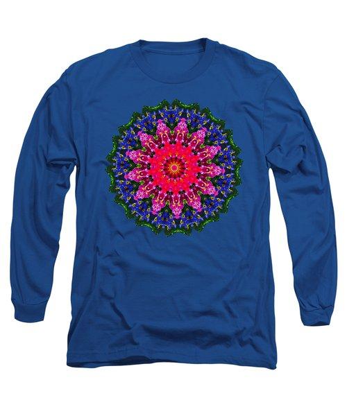Floral Kaleidoscope By Kaye Menner Long Sleeve T-Shirt