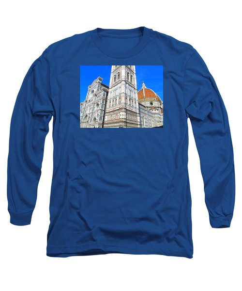 Florence Duomo Cathedral Long Sleeve T-Shirt by Lisa Boyd