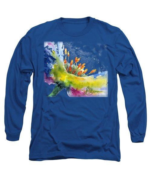 Flower Shirt Long Sleeve T-Shirt
