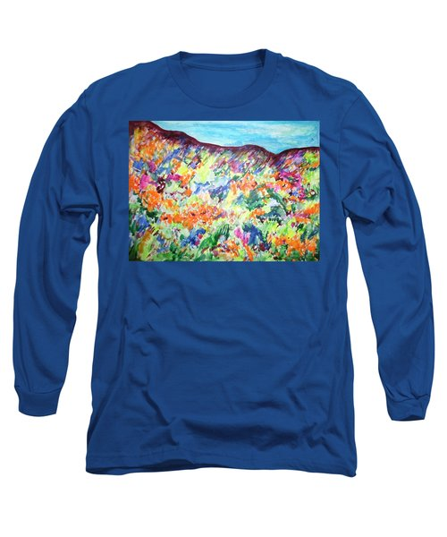 Flowering Hills Long Sleeve T-Shirt