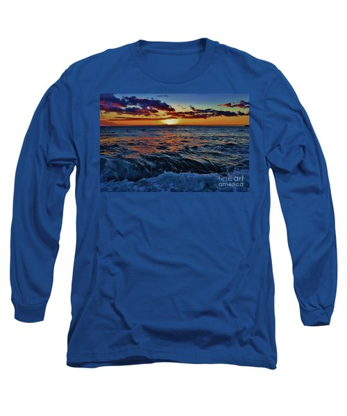 Fluid Sunset Long Sleeve T-Shirt