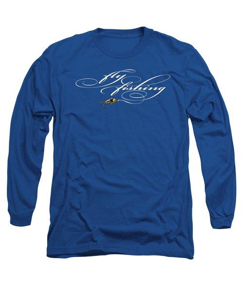 Fly Fishing Nymph Long Sleeve T-Shirt