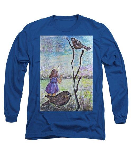 Fly, Fly Away Long Sleeve T-Shirt