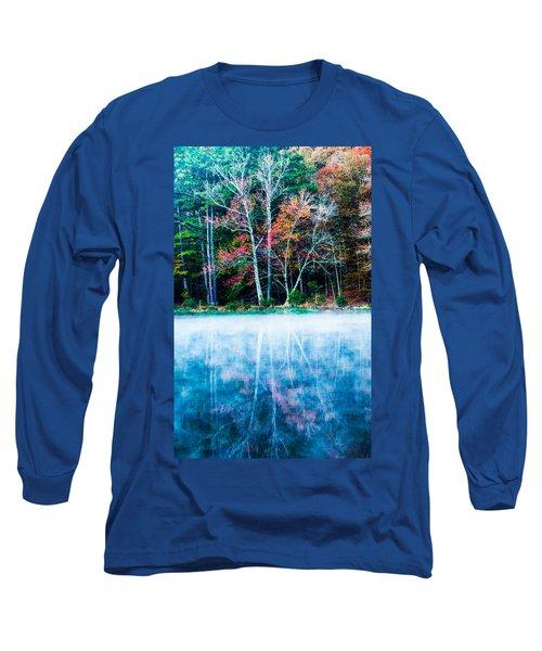 Fog On The Lake Long Sleeve T-Shirt