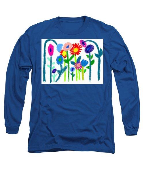 Folk Garden Long Sleeve T-Shirt
