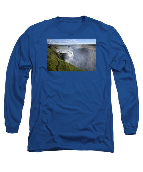 Follow Life's Path Long Sleeve T-Shirt by Lucinda Walter