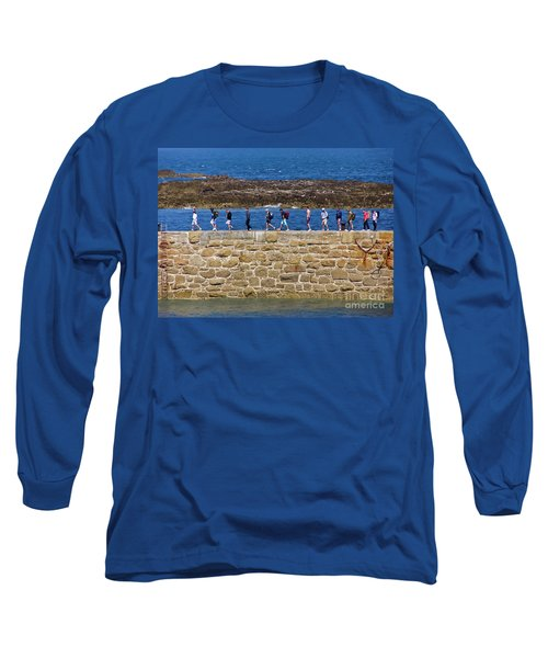 Long Sleeve T-Shirt featuring the photograph Follow The Yellow Brick Road by Terri Waters