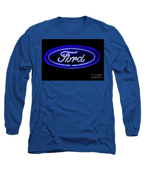 Ford Neon Sign Long Sleeve T-Shirt