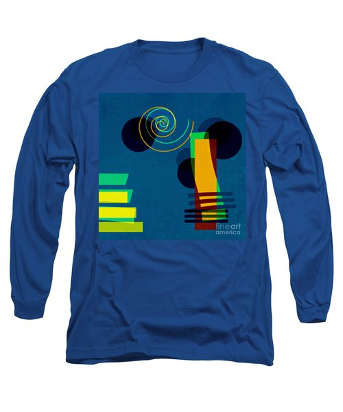 Formes - 03b Long Sleeve T-Shirt by Variance Collections