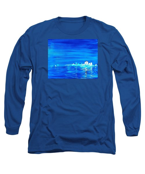 Fort Myers By Night Long Sleeve T-Shirt