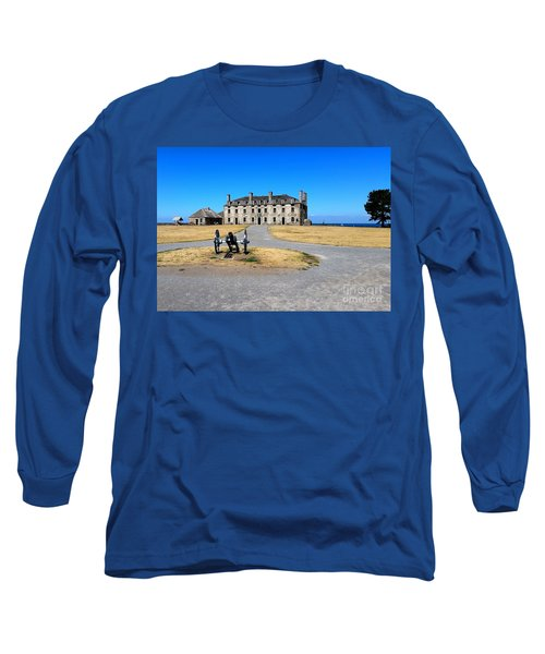 Fort Niagara  Long Sleeve T-Shirt by Raymond Earley