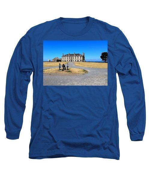 Long Sleeve T-Shirt featuring the photograph Fort Niagara  by Raymond Earley
