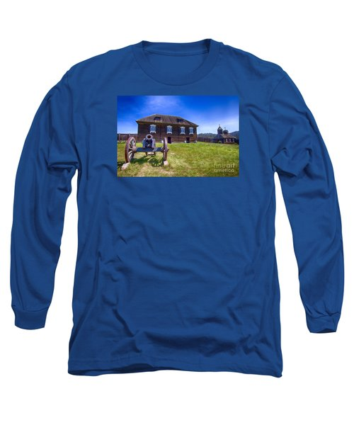Fort Ross State Historic Park Long Sleeve T-Shirt by Jason Abando