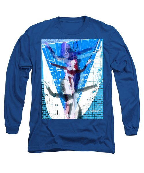 Four Blue Angels Long Sleeve T-Shirt