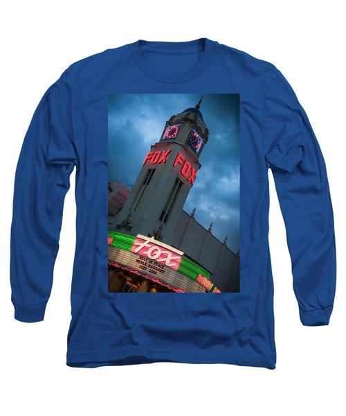 Fox Theater Merle Haggard Tribute Long Sleeve T-Shirt