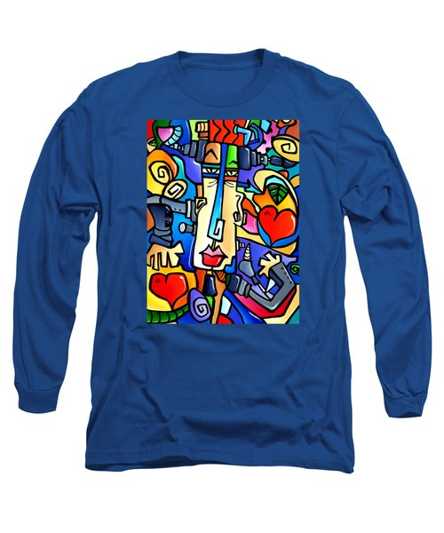 Frank Long Sleeve T-Shirt by Tom Fedro - Fidostudio
