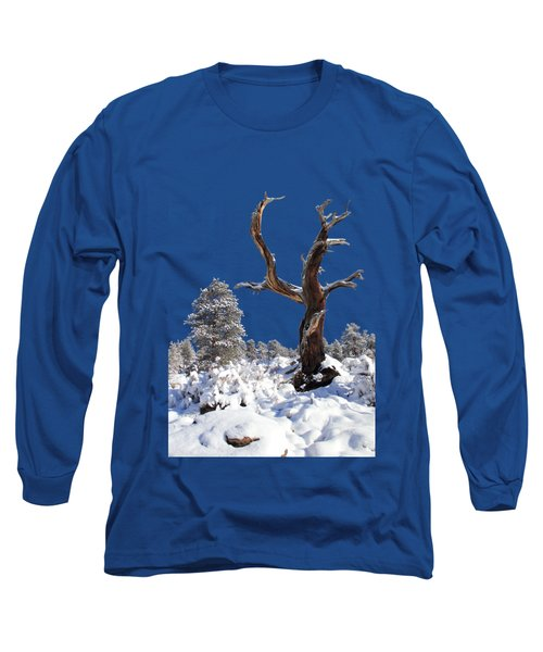 Long Sleeve T-Shirt featuring the photograph Fresh Snow by Shane Bechler