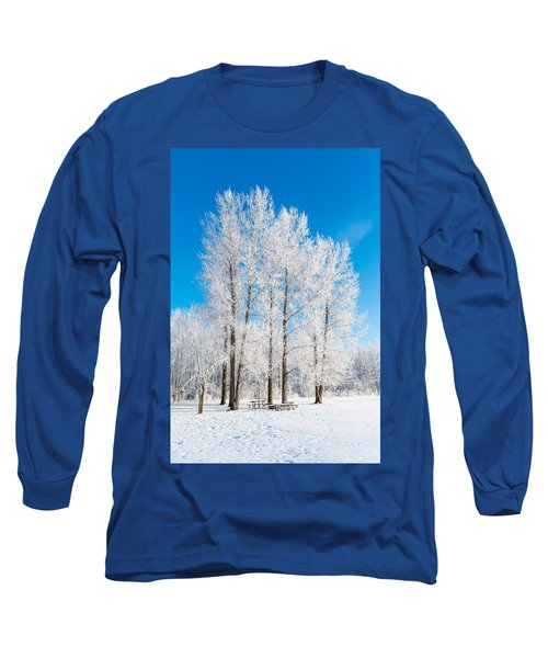 Frosty Wonderland Long Sleeve T-Shirt