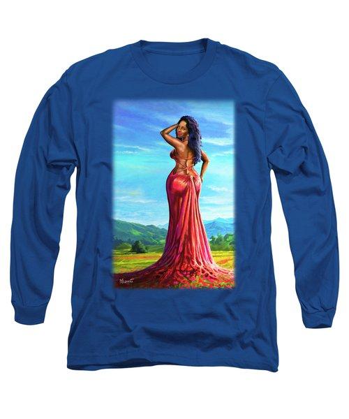 Summer Blossom Long Sleeve T-Shirt