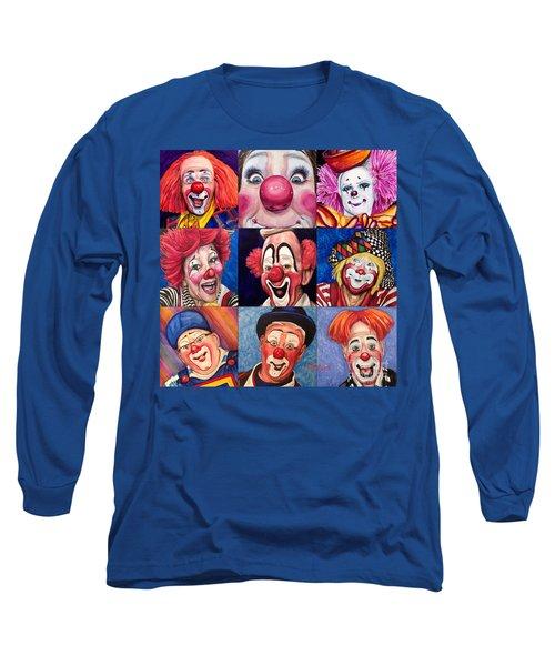 Fun Real Clowns Long Sleeve T-Shirt